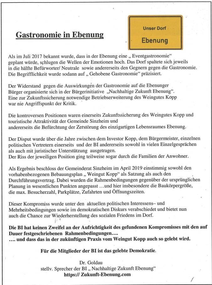 Sinzheim Magazin Dezember 2019